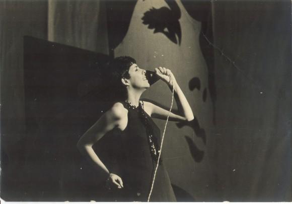 Miriam Ramos durante una actuación.