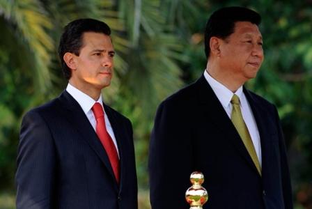 presidente de china + mexico