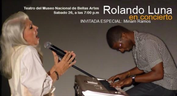 Me precio de haberla conocido y admirado hasta una reciente –asombrosa-- entrega que ocupó un par de momentos en una de sus presentaciones junto al pianista Rolando Luna.