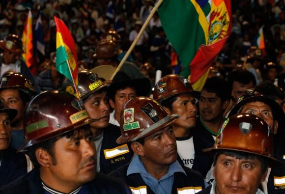 El pueblo boliviano respaldó a su presidente. Foto: Reuters