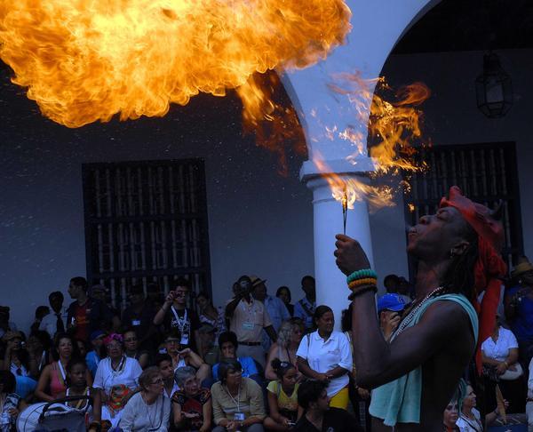 El Caribe arde en Santiago de Cuba