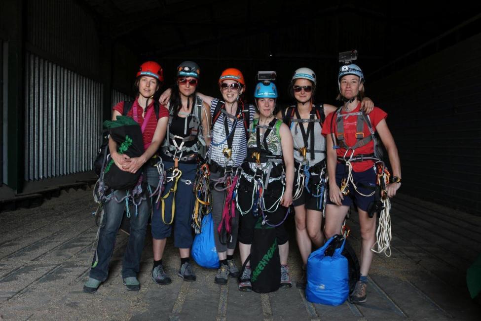 Mujeres escaladoras