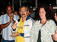 Alejandro, el primero a la izquierda. Foto: Raúl López, Granma