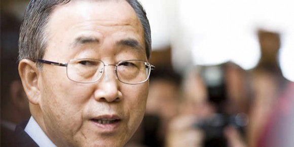 Ban Ki-moon reconoce papel de Cuba en proceso de paz colombiano