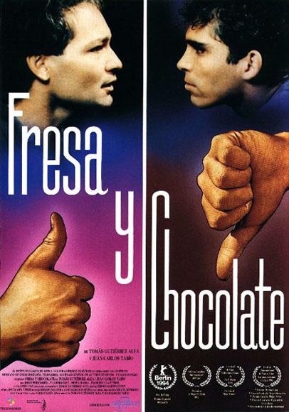 Cartel de Fresa y Chocola