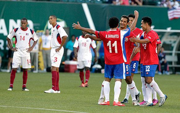Gold Cup Cuba Costa Rica Soccer