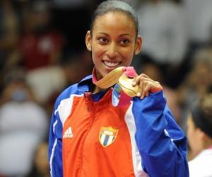 Glenhis Hernández, en ocasión de ganar en Guadalajara 2011. Foto de Archivo.