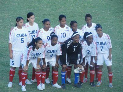 Cuba sub.20 femenino