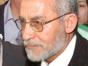 El líder de los Hermanos Musulmanes, Mohamed Badía,
