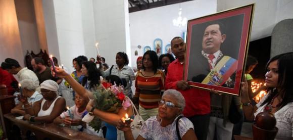 Homenaje Chávez