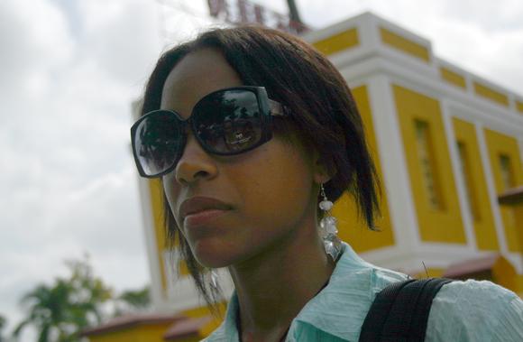"""Lumi (20 años) """"si hubiese otro Moncada daría el paso al frente"""". Foto: Jorge Legañoa/Cubadebate."""