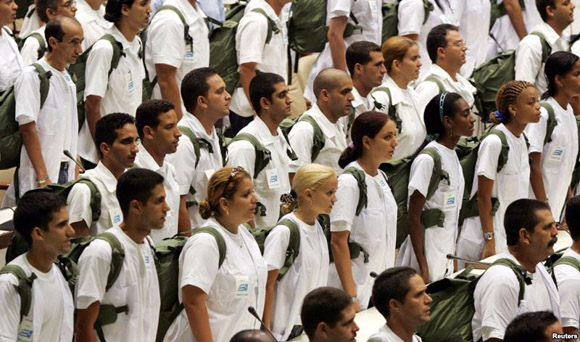 Los médicos cubanos siempre están dispuestos a brindar su ayuda solitaria a cualquier país