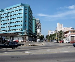 Edifico sede del MINCEX el Grupo Empresarial de Comercio Exterior.
