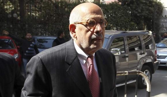 Mohamed El-Baradei. Foto: EFE