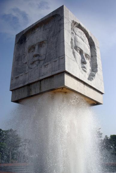 Monumento a Abel Santamaría. Foto: Daylén Vega/Cubadebate