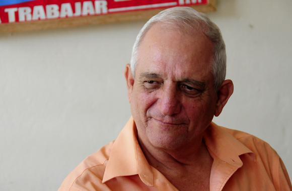 Osaba de Goenaga, el alma de la Peña. Foto: Ladyrene Pérez/Cubadebate.