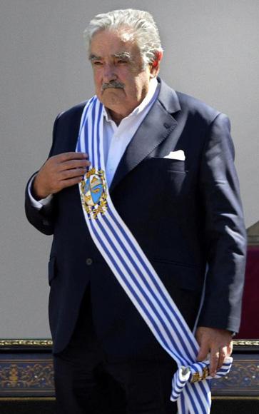 Presidente de Uruguay José Mujica