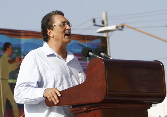 El Primer Ministro de Santa Lucía en  Acto por el Aniversario 60 del Asalto al Cuartel Moncada. Foto: Ismael Francisco/ Cubadebate