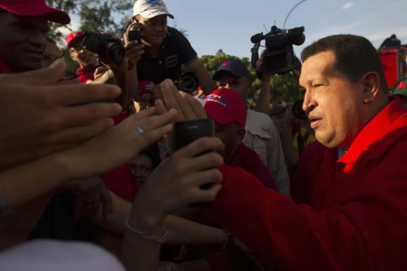 Comandante Hugo Rafael Chávez Frías. Caracas 3 de agosto de 2012. Foto: REUTERS