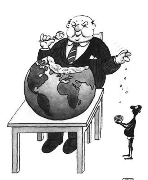 Ricos se tragan el mundo