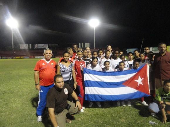Sub.20 femenina clasifica a final del Caribe