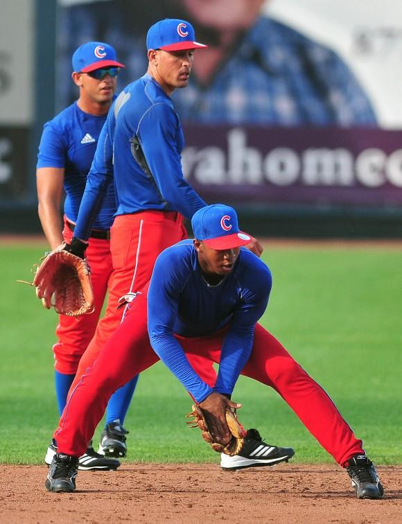 Entrenamiento de la selección de beisbol de Cuba que participara en el tope con su similar de Estados Unidos.  Foto: Ricardo López Hevia/Cubadebate