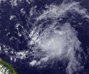 A new tropical depression in the Atlantic