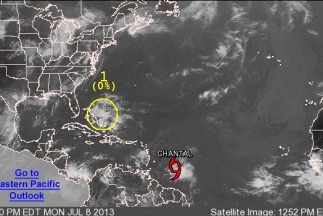 Tormenta tropical chantal