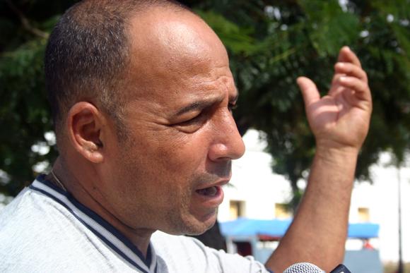 Wilmer González, joven santiaguero, se confiesa agradecido de la obra de la Revolución. Foto: Jorge Legañoa/Cubadebate