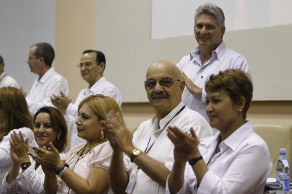 Antonio Moltó nuevo presidente de la UPEC. Foto: Ismael Francisco / Cubadebate.