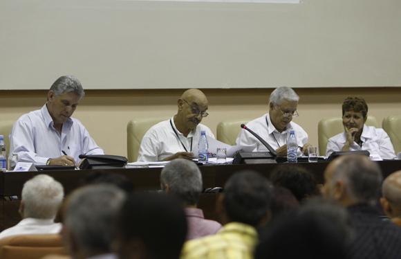 Preside Miguel Diaz-Canel, congreso de la UPEC.  Foto: Ismael Francisco/Cubadebate.