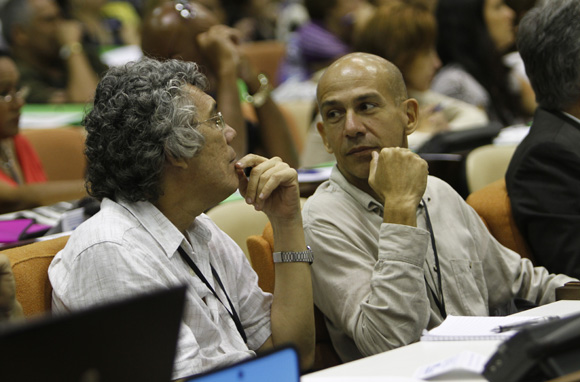 9no Congreso de la UPEC.  Foto: Ismael Francisco / Cubadebate.
