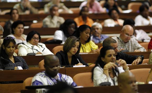 Sesión plenaria de la Asamblea Nacional del Poder Popular. FOto: Ismael Francisco/Cubadebate