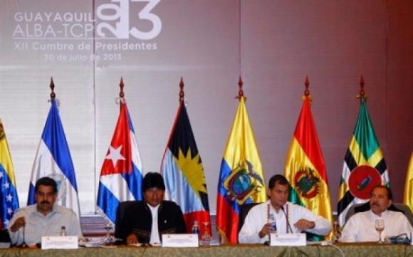 Cumbre del ALBA en Ecuador
