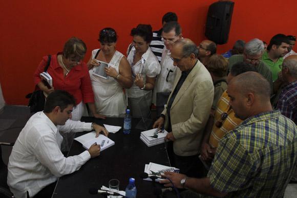 Presentado en la Habana el libro La Gran Estrategia Estados Unidos VS América Latina. Foto: Ladyrene Pérez/Cubadebate.