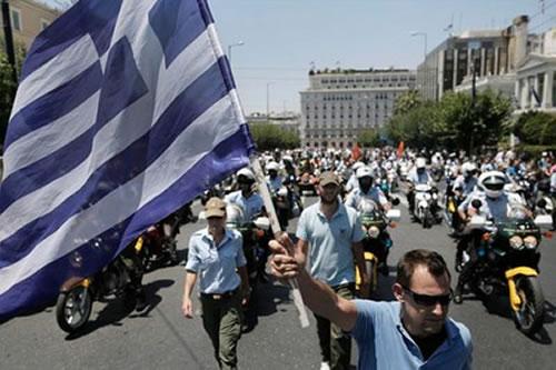 grecia huelga