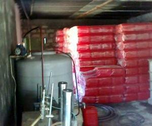 laboratorio quimico en siria