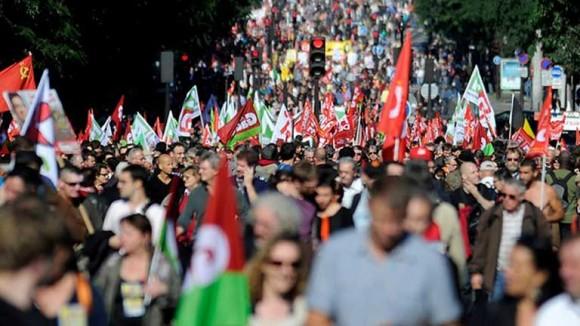 marcha + desempleo + paris