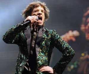 Mick Jagger, cantante de los Rolling Stones
