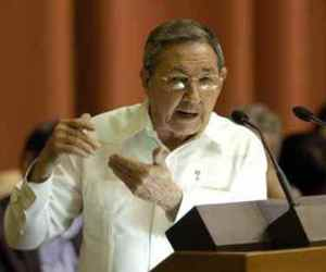 Presidente cubano Raúl Castro entre los principales oradores del funeral de Mandela