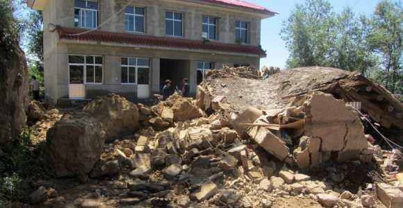 Fuerte sismo sacude provincia china de Gansu