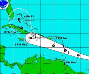 Tormenta Tropical Chantal