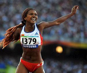 Yunidis Castillo, una de nuestras atletas en Rio.