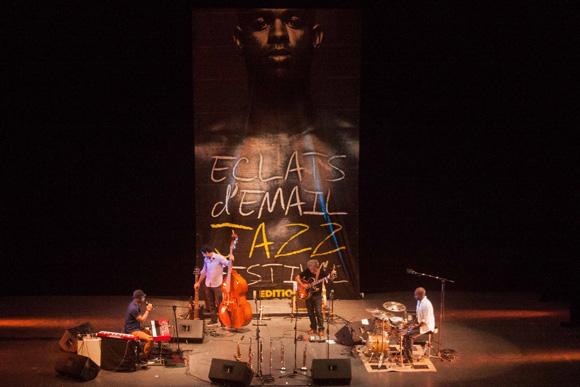 Concierto de Roberto Fonseca y Temperamento en el Teatro Mella. Foto: Alejandro Ramírez Anderson.