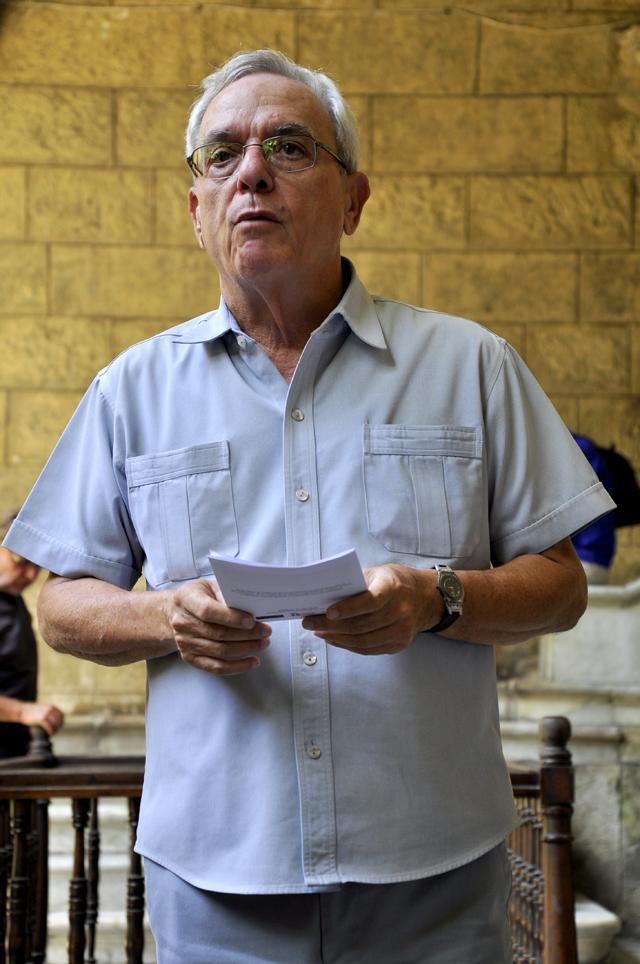 Dr. Eusebio Leal, director de la Oficina del Historiador de La Habana.