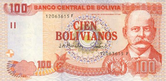 Cien bolivianos