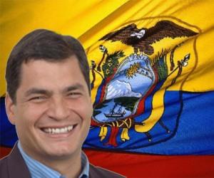 Rafael Correa, presidente de Ecuador. Foto: Archivo.