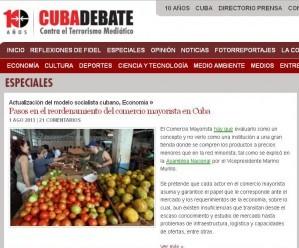 Diez años contra el terrorismo mediático, lo más leído de Cubadebate