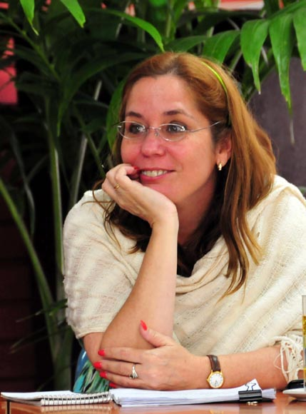 Rosa Miriam Elizalde. Foto: Ladyrene Pérez/Cubadebate.