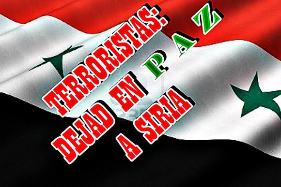 Dejad en Paz a Siria